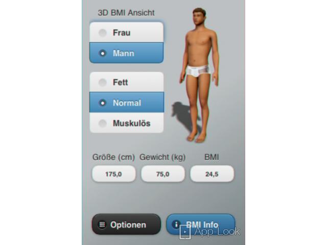 24 5 frau bmi BMI Calculator